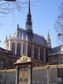 Sainte-Chapelle in Paris Sainte Chapelle Paris, Saint Chapelle, Monuments, Cathedral Architecture, Paris Metro, Saint Louis, Paris City, City Break, Loire