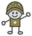 Adorable Military Themed items for kids at The Tiny Soldier.  So cute and inexpensive.  I need to find a child to buy for!