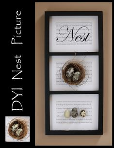 DIY inspired decorating with Nests