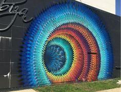 Schöne kaleidoskopische Straßenkunst durch Douglas Hoekzema ▷ Schöne kaleidoskopische Straßenkunst durch Douglas Hoekzema More from my site Street art 3d Street Art, Murals Street Art, Amazing Street Art, Mural Art, Street Artists, Amazing Art, Awesome, Graffiti Art, Urbane Kunst