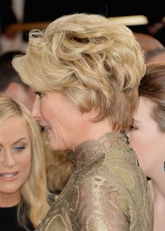 Love emma thompson's hair - golden globes photo - Google Search
