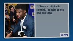 The bad NBA Draft suits stop here, Emmanuel Mudiay to wear 10K suit