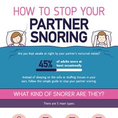 Tips To Stop Your Partner Snoring