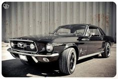 Ford mustang 1967 GT Voitures I need this car like something awful