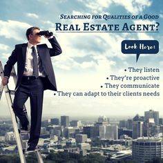 Whether it's their desire to help people or their personal drive and ambition, a handful of qualities often distinguish the great agents from the good ones. We have found there are a number of qualities that successful real estate professionals share. Have a look at them. For more information, visit: www.digitalmarketingrealestate.com   #DigitalMarketingRealEstate #realestate #realestatemiami #southflorida #miami #investormiami #realtorsmiami #realtorssouthflorida #realtymiami #realtyflorida…