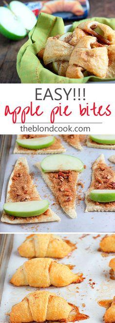 Zin om een lekkere snack te maken zonder al te veel werk? Deze appelsnacks zijn niet moeilijk te maken en smaken lekker fris en zoet.