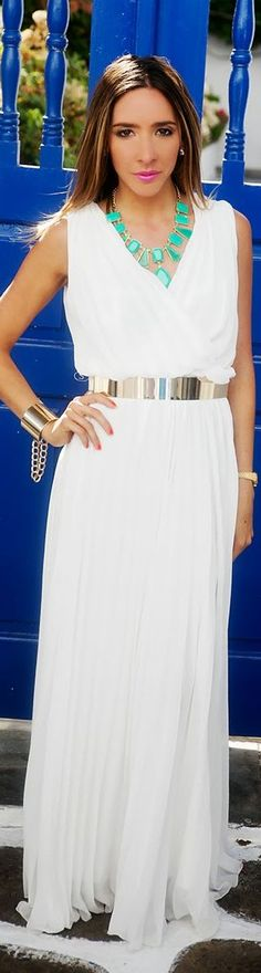 Downtown Mykonos + Hailey V-neck Draped Dress by Haute And Rebellious