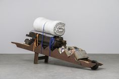 Theaster Gates, Migration Rickshaw for Sleeping, Building and Playing