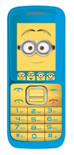 [CATALOGUE GÉNÉRAL 2015] Téléphone portable Moi Moche et Méchant: Le téléphone portable «Minions» compact quadri-bande ! Double SIM et compatible avec tous les opérateurs, sans engagement. Fond d'écran et sonnerie « Minions » ! Fonctions lecteur MP3/MP4, radio FM, Bluetooth®, kit mains-libres inclus et sortie Jack. Inclus : alarme, calendrier, calculatrices, enregistreur audio, lampe torche et kit mains-libres. RÉF. GSM20DES http://www.exertisbanquemagnetique.fr/info-marque/lexibook