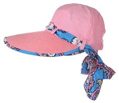 Jemis Women's Big Rim Cap Sun Hat with Sacrf (pink) Jemis http://www.amazon.com/dp/B00VO0ZF78/ref=cm_sw_r_pi_dp_56r4vb1NDKMXA