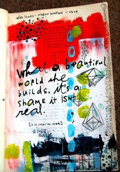 In My Art Journal - Week of January 26