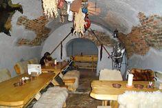 Skalica, Slovakia - medieval restaurant LEDOVNA