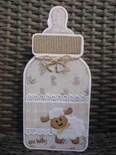 Voorbeeldkaart - baby - Categorie: Stansapparaten - Hobbyjournaal uw hobby website