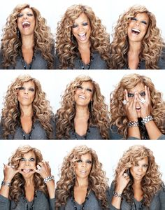 """Wendy Williams. Oh how I live for the Queen of all Gossips Wendy Williams. She cracks me up. I feel like she should be my Auntie with her """"kitchen table talk""""."""