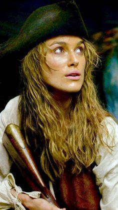 Ready for action Johnny Depp, Elizabeth Swann, Sport Tv, Keira Christina Knightley, Keira Knightley Pirates, On Stranger Tides, Black Sails, Pirate Life, Captain Jack