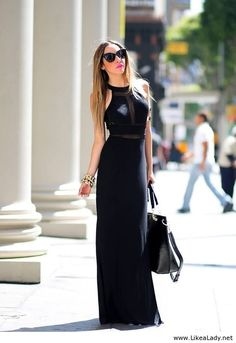 Get this dress on @Emilio Foster or see more #dress #formal_black_dress
