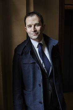 Benoit Hamon, mercredi.  © Bruno Levy #ManPortrait #pickedbyRegis