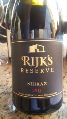 Rijk's Private Cellar Reserve Tulbagh Shiraz Reserve 2011  92 Points Sommelier Miguel Chan  Full tasting notes: www.vivino.com/users/miguel-chan  #SouthAfrica #Wine #Rijk's #Tulbagh #Shiraz #MiguelChan