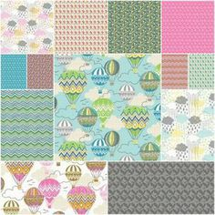 Blown Away Fat Quarter Bundle
