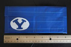 BYU Clutch Women's duct tape wallet by sisterscraftcorner on Etsy, $12.00