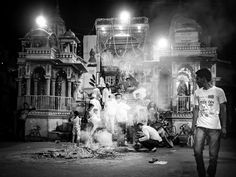 Streets of Bundi - Holika Dahan Photography by Nick Laborde