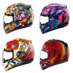 Icon Motorcycle Helmets Spring 2017
