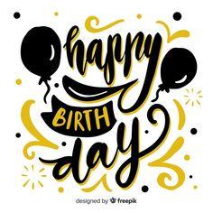 Birthday Wishes Songs, Happy Birthday Writing, Happy Birthday In Spanish, Happy Birthday Drawings, Happy Birthday Clip Art, Happy Birthday Typography, Happy 11th Birthday, Happy Birthday Printable, Birthday Clips