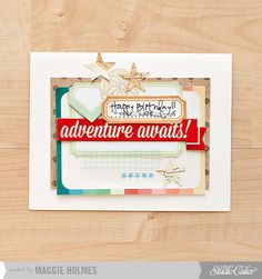 Adventure Card by maggie holmes > Studio Calico June Kits