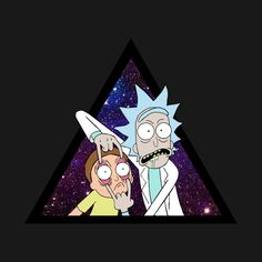 Check out this awesome 'Rick+and+Morty+Trippin.' design on @TeePublic!
