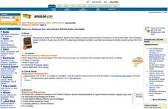 Hard to believe that Amazon once looked like this