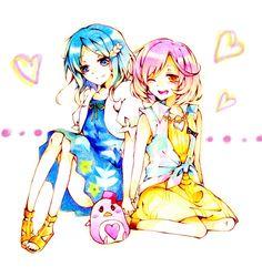 Pretty Rhythm: Rainbow Live - Naru and Rinne