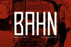 Check out BAHN Pro Rough - THIN by MARTINI Type Designer on Creative Market