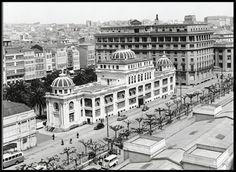 Hotel Atlántico derribado en 1967