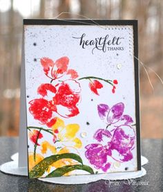 heartfelt thanks by Stamping Virginia - Cards and Paper Crafts at Splitcoaststampers