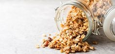 What is Granola? What is Granola? Low Calorie Granola, Dried Berries, Dried Blueberries, What Is Granola, Graham Flour, Crunchy Granola, Recipe Mix, Toasted Almonds, Peanut Butter