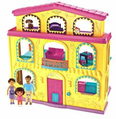 Fisher-Price Dora The Explorer: Playtime Together Dora and Me Dollhouse: