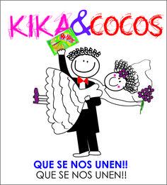 Manta de cocos y Kika despedida de solteros