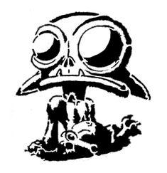 Goblin Stencil by Sombrika