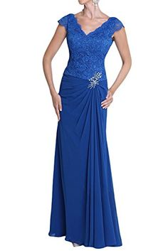 Sunvary Royal Blue Chiffon and Lace Evening Prom Bridesmaid Dresses Mother of the Bride Gowns Floor Length US Size 10- Royal Blue Sunvary http://www.amazon.com/dp/B00O8IFV9U/ref=cm_sw_r_pi_dp_o1nxwb1FYQHC9