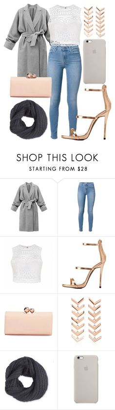 """""""Cique outfit with rose gold"""" by thirzz ❤ liked on Polyvore featuring Ally Fashion, Charlotte Russe, Ted Baker, Karma el Khalil and Frenchi"""