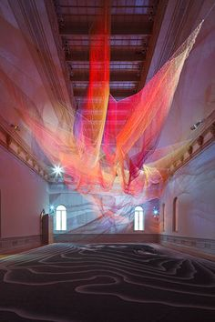 Janet Echelman at the Renwick - Google Search