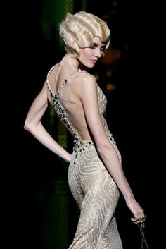 Hair<3 How much fun is the finger wave hair? So classic, LOVE IT! ~RP~
