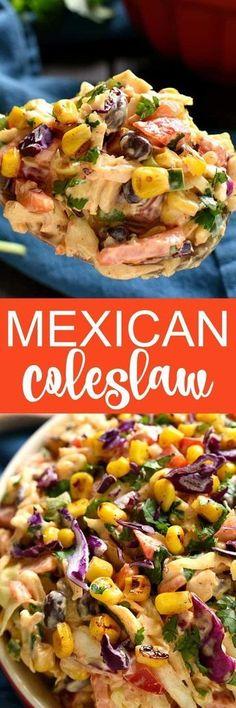 Taco Salad meets Mexican Coleslaw ~
