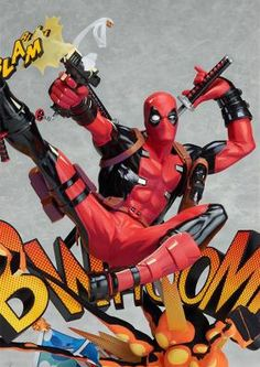 Estatua Deadpool Breaking The Fourth Wall 24 cm. Marvel Cómics. Good Smile Company Foto 1