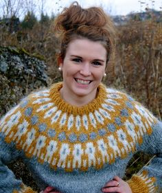 Icelandic lopi wool sweater-colors!!