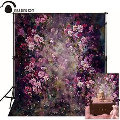 Valentines Day 6.5x10 FT Backdrop Photographers,Love Valentines Day Romanic Themed Floral Flowers with Leaves Art Print Background for Baby Birthday Party Wedding Vinyl Studio Props Photography