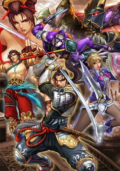 Soul Calibur By Stanley Lau (Artgerm) Soul Calibur 3, Soul Calibur Characters, Soul Edge, Stanley Lau, Samurai, Gamers Anime, Video Game Art, Video Games, Art Director