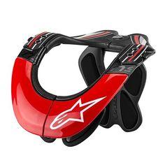 Alpinestars BNS Tech Carbon Neck Brace - V1MX #mxgear #motocross #alpinestars