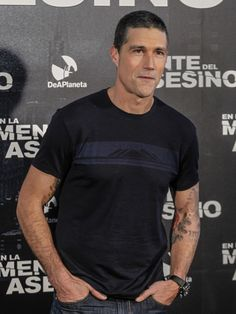 Matthew Fox attends the Alex 'Cross' photocall at ME hotel in Madrid, Spain on November 11, 2012