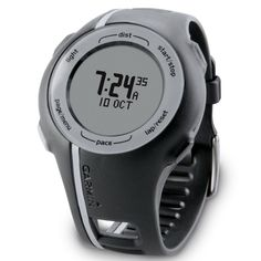 Forerunner 110 is the easiest way to track your training. It's GPS-enabled so it knows